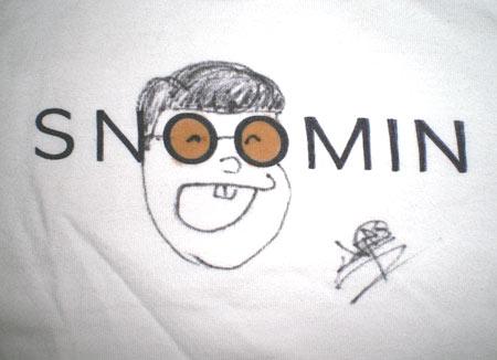 スヌーミンTシャツ
